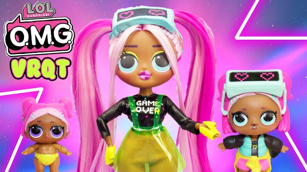 Lol Omg Makeover Diy Vrqt Big Sister Omg Fashion Doll Youtube