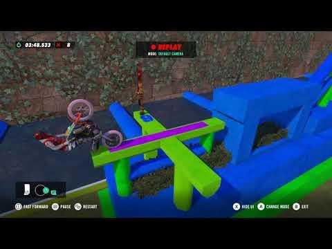 Berry & Gerry (Ninja Lvl 4) - Trials Rising Custom Track  
