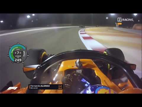 F1 2018 Race Start & First 20 Minutes Pure Race Onboard Mix   Bahrain Grand Prix   With Telemetry