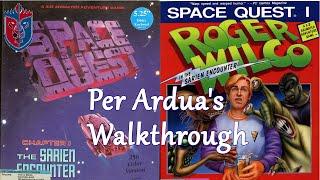 Space Quest 1 - The Sarien Encounter (VGA) - Walkthrough / Let's Play