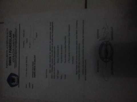 Surat Undangan Reuni Alumni Smkn 1 Pandeglang Angkatan Tahun 2000