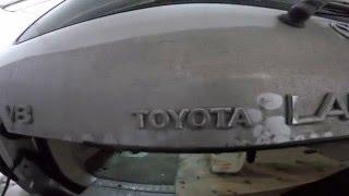 Toyota Land Cruiser 100 disassembly door ( розбирання двері )