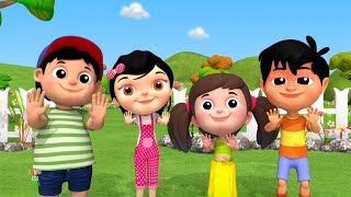Bam Chiki Bam Bam | Hindi Nursery Rhymes | बम चिकी बम बम | Balgeet Hindi | iWiz Kids India