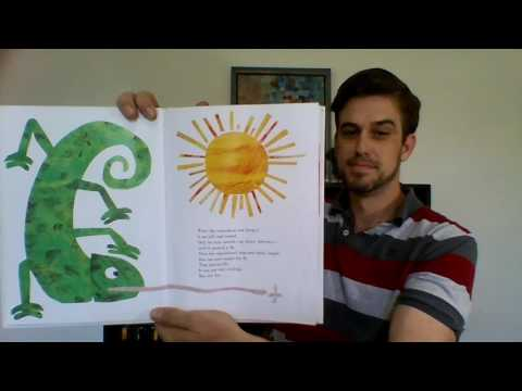 The Mixed-Up Chameleon by Eric Carle | Children's Books Read Aloud by Uncle Bear!