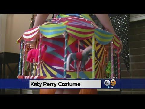 Katy Perry Praises OC Girl's Impressive Look-ALike Carousel Costume