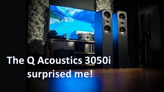 Q Acoustics 3050i speakers + QED Silver Anniversary XT Speaker Cable. Want a musical speaker?(Day 4)