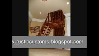 Log Stairs And Ladder