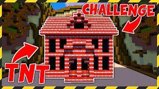 BUDUJĘ TYLKO Z TNT CHALLENGE! - MINECRAFT BUILD BATTLE