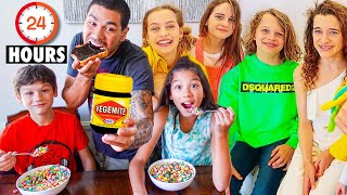 We Let The Norris Nuts Choose what we Eat for 24 Hours! - Food Challenge