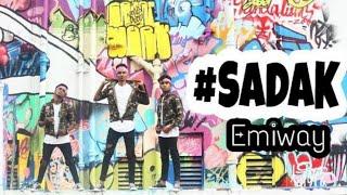 EMIWAY- #SADAK ( RAFTAR) || Yogesh Dhurandhar || Dance Choreography .