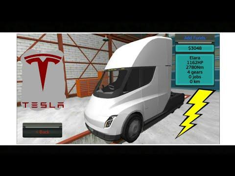 Cargo Transport Simulator UPDATE! - Elara/ Tesla Semi-Truck