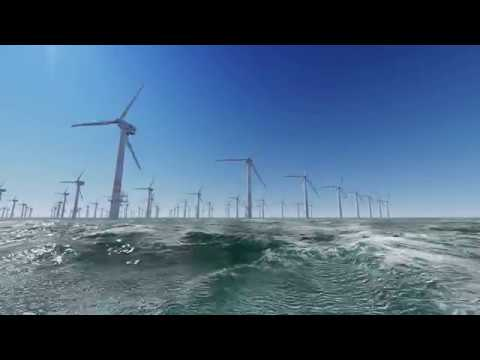 The World's Most Satisfying Wind Turbine Video