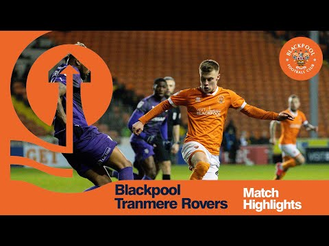 Blackpool Tranmere Goals And Highlights