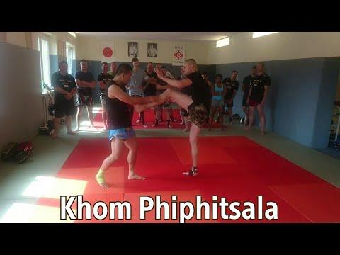 Khom Phiphitsala 🇹🇭 Muay Thai Seminar in Muay Thai Gym Riesa, Germany,.