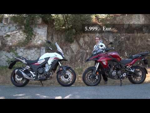 Motosx1000: Comparativa Benelli TRK 502 vs Honda CB500X