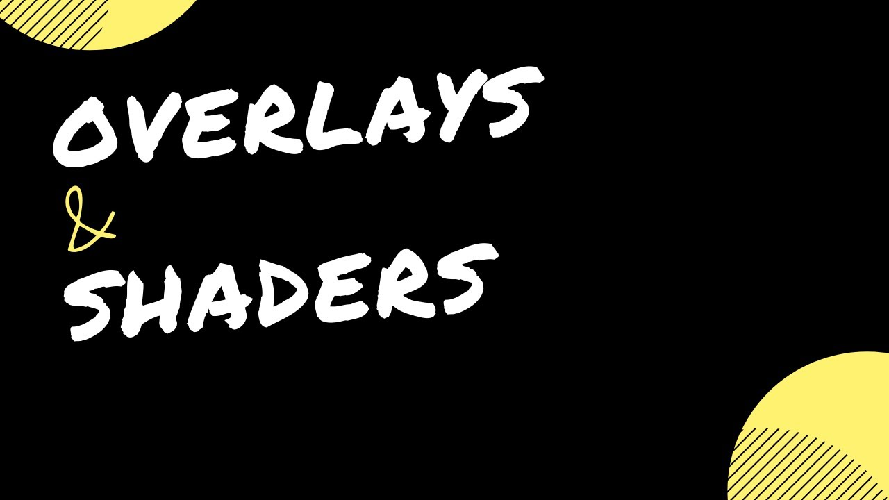 RetroArch Quick : Overlays & Shaders
