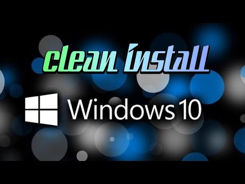How to do a Clean install of  windows 10 the basics no more having a slow laptop