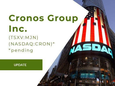 Nasdaq Approves Canadian Licensed Producer Cronos for Trading