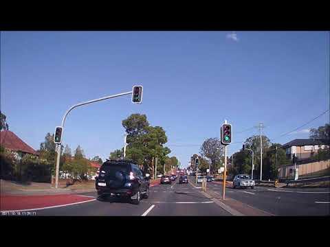 Full Realtime Driving: Parramatta - Neutral Bay