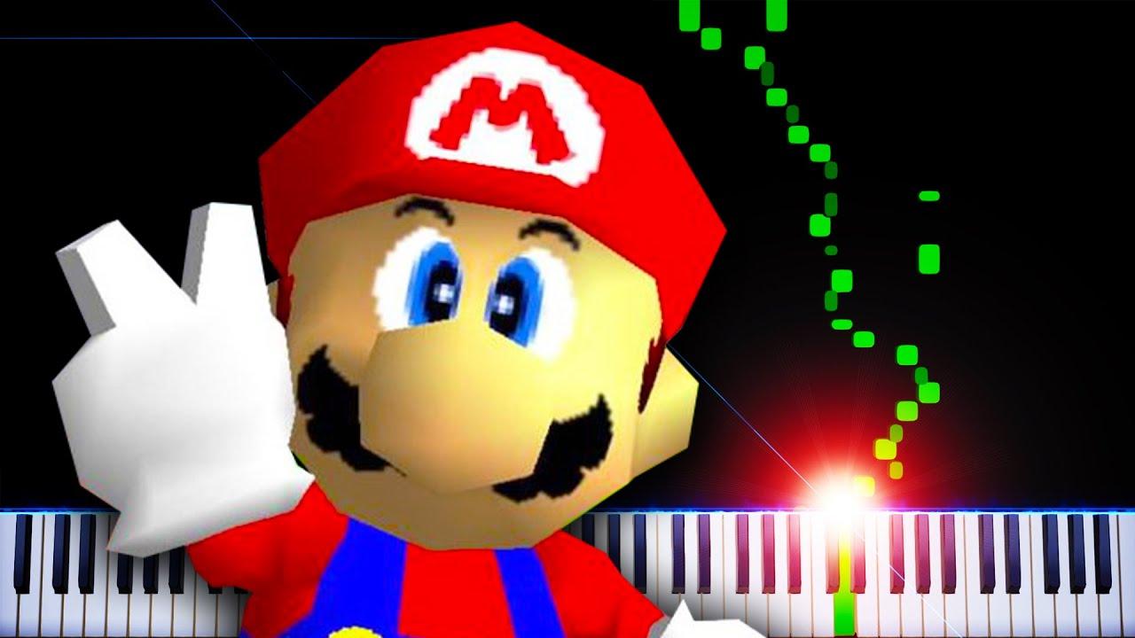 Slide (Rainbow Ride) (from Super Mario 64) - Piano Tutorial