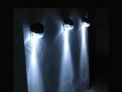 Luminaria solar led para jardim youtube for Luminarias de exterior led