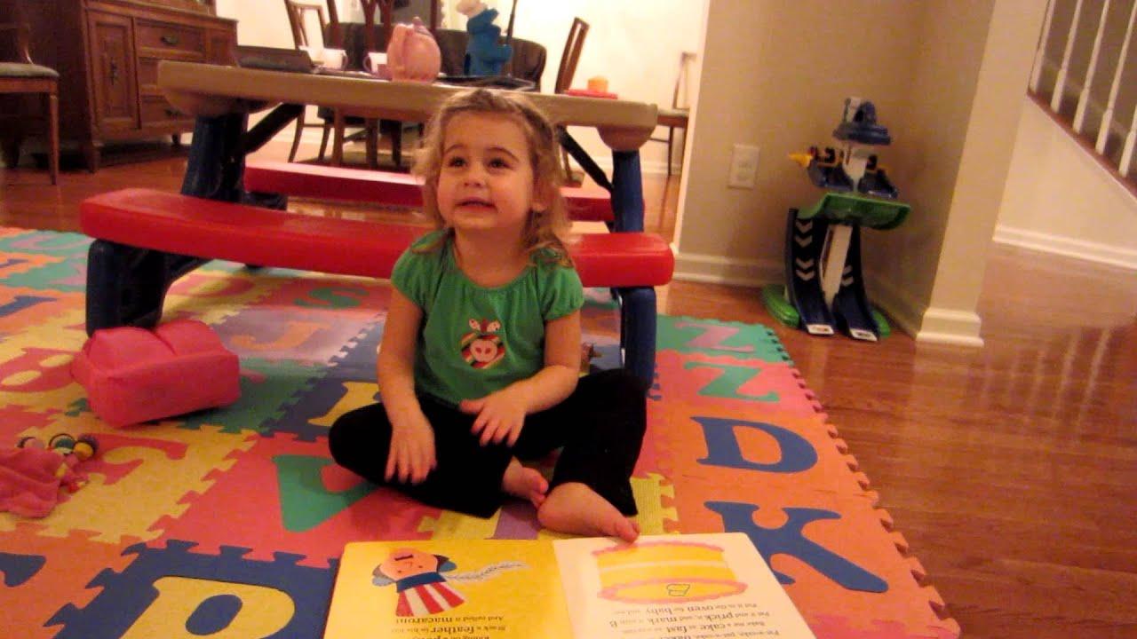 Sydney Sings Nursery Rhymes At 2 Years Old Part