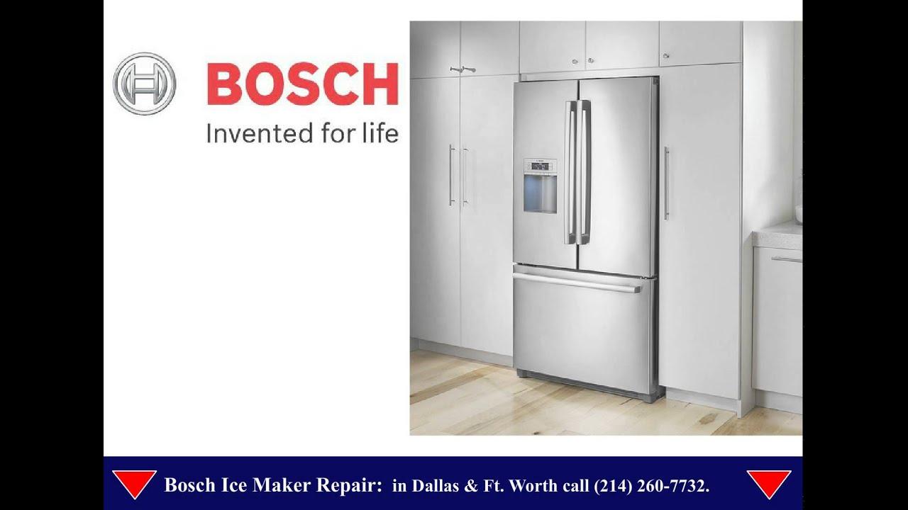 Bosch ice maker repair Dallas