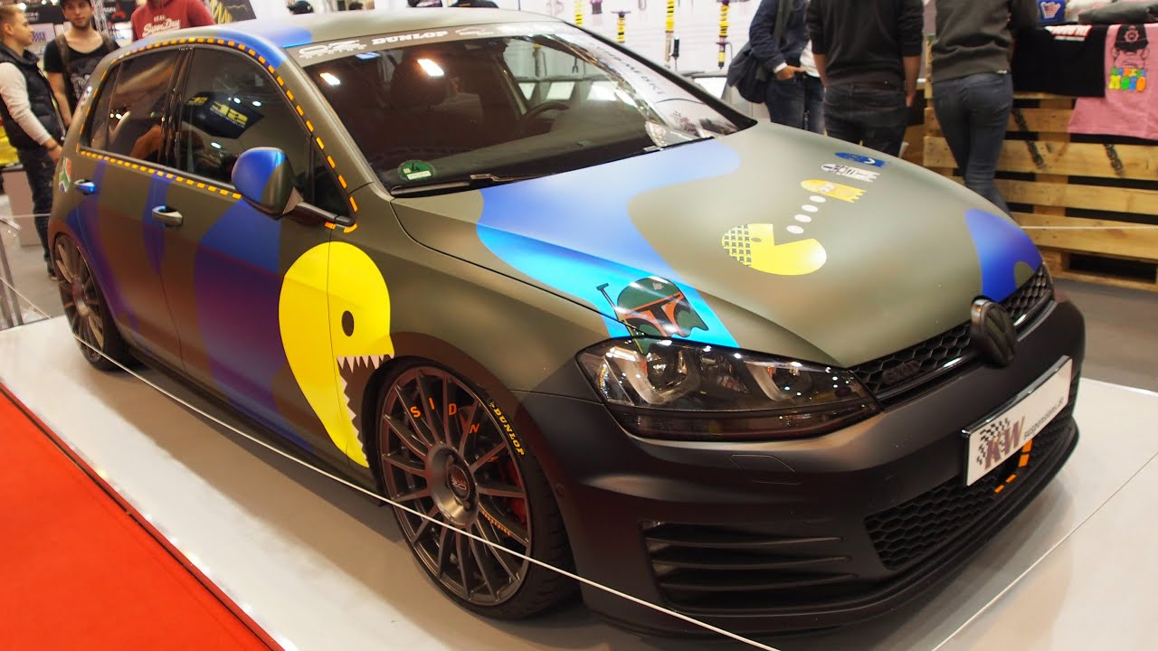 volkswagen golf 7 gtd sidney industries tuning at essen. Black Bedroom Furniture Sets. Home Design Ideas