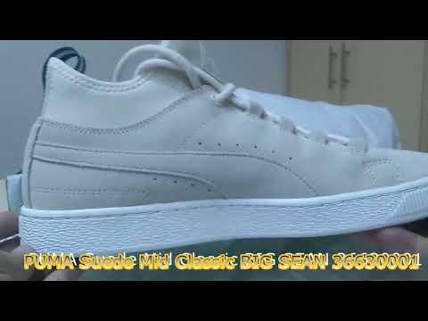 7967f90df1ec1 Unboxing Review sneakers PUMA Suede Mid Classic BIG SEAN 36630001