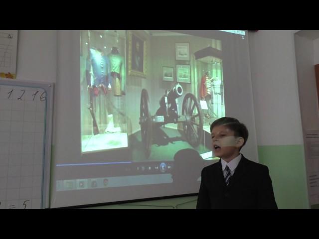 Изображение предпросмотра прочтения – АртемийБражников читает произведение «Бородино» М.Ю.Лермонтова