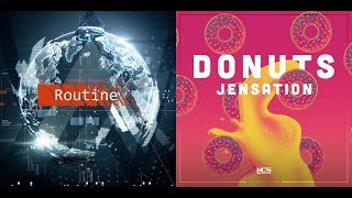 Alan Walker And David Whistle Routine Jensation - Donuts Mashup.mp3