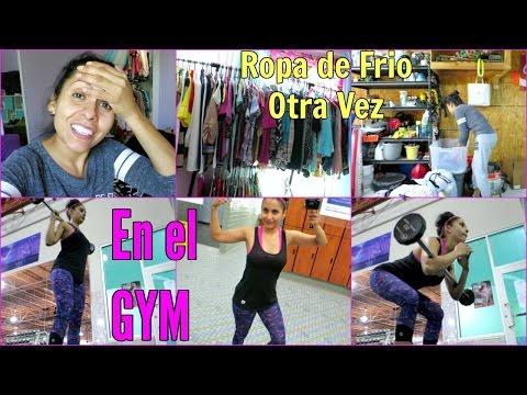 Sacando Ropa de Frio Otra Vez , Nos Toca GYM !!! - Septiembre  29, 2016 ♡IsabelVlogs♡
