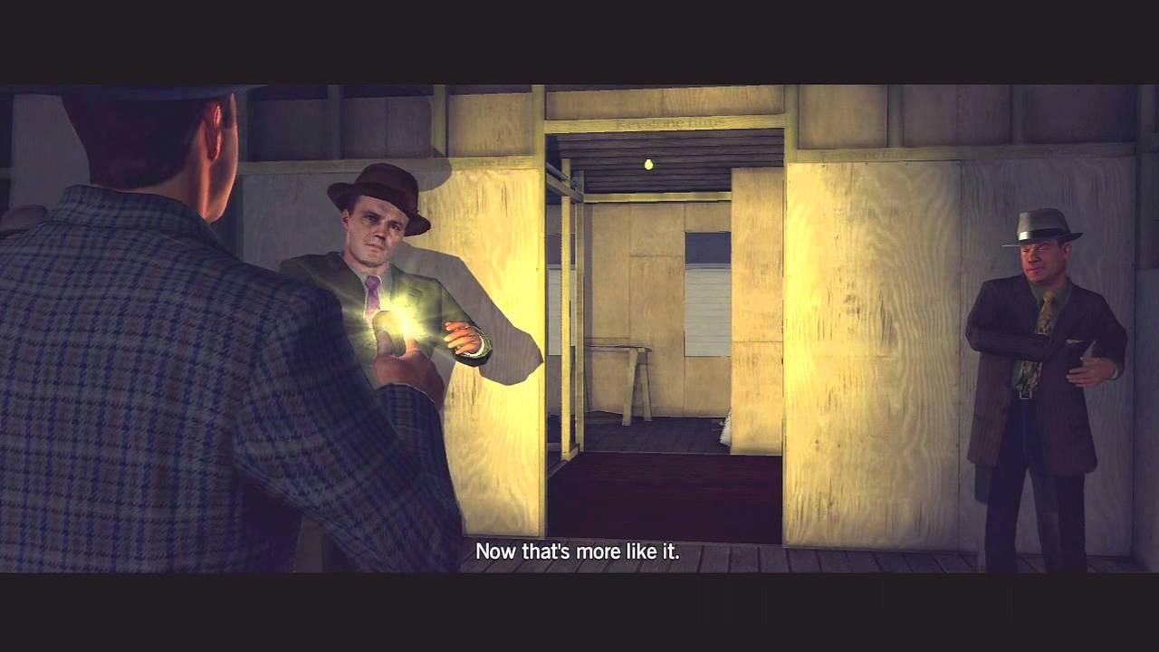 L.A. Noire: House of Sticks 5 STAR Walkthrough Case 3 Part 2 [The Arson Cases] Let's Play [HD]