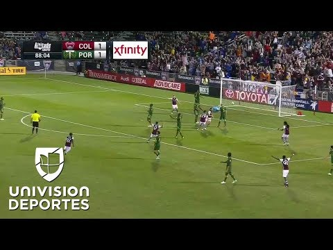 De la banca a héroe,  Alan Gordon le da dramática victoria a Colorado sobre Portland | MLS
