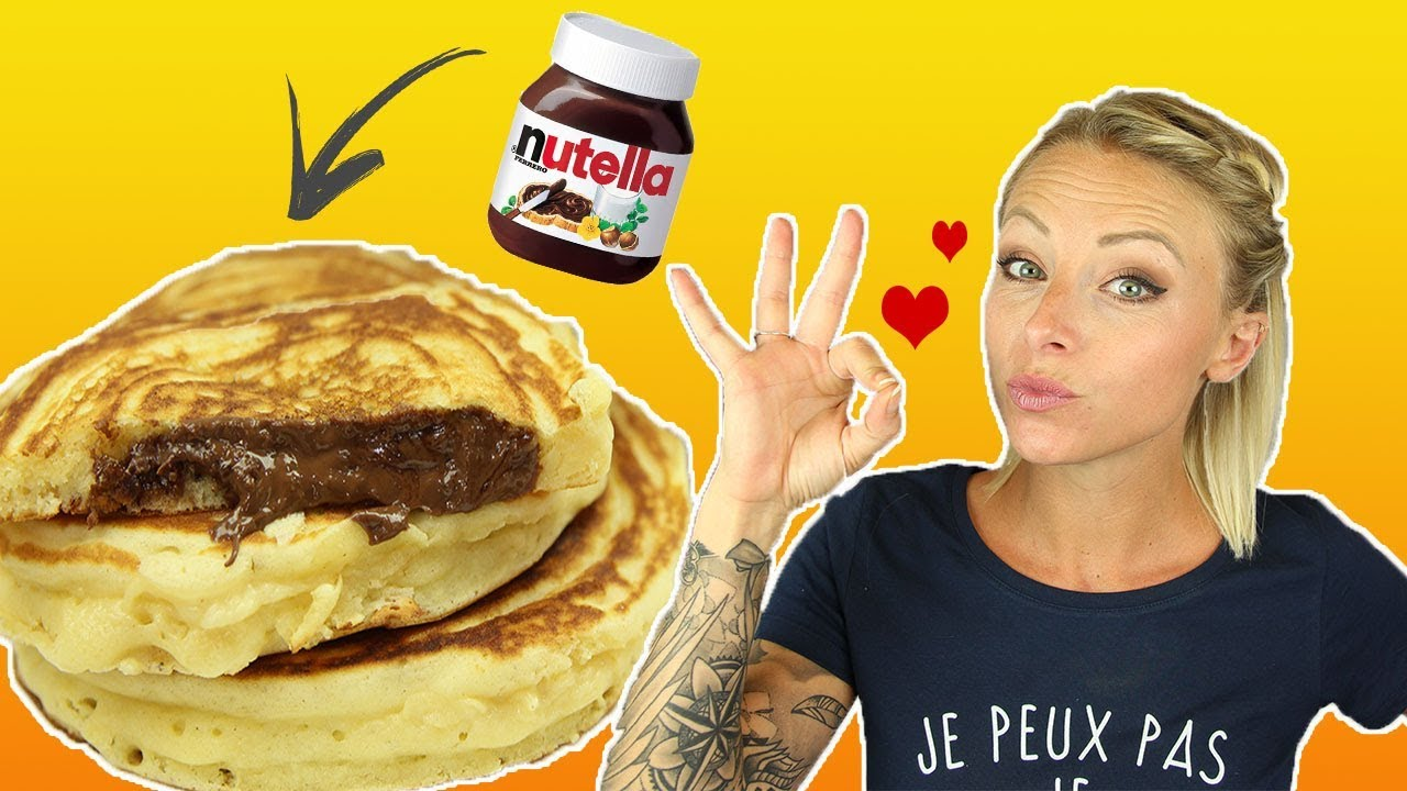Recette Pancakes Nutella Youtube