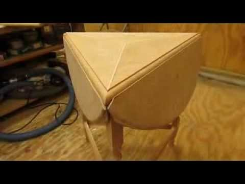 Drop Leaf Cherry Table Hinges And Drop Leaf Miter Step 6