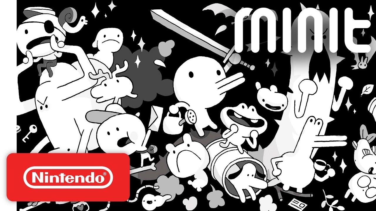 Minit - Launch Trailer - Nintendo Switch