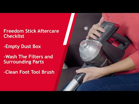 How To Maintain Your Hoover Freedom Stick