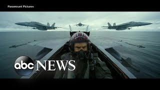 Tom Cruise Surprises Fans With And39top Gun Maverickand39 Trailer  Abc News