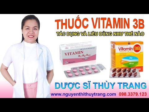 Thuốc vitamin 3B có tác dụng gì? Cách sử dụng an toàn