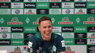 Werder Mixed-Zone vom 21. März 2018 - Niklas Moisander [Komplett]