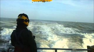 RAF RESCUE EXERCISE OFFSHORE WIND FARM GREATER GABBARD.wmv