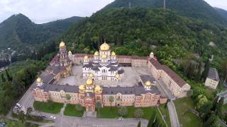 Новоафонский монастырь(, 2015-07-09T03:19:12.000Z)