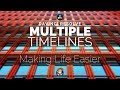 Using multiple timelines to create a single project - 5 Minute Friday #20