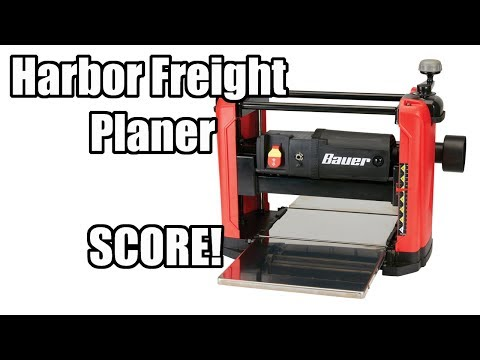 Harbor Freight Planer Review