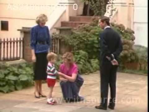 Prince William's 1st day at school
