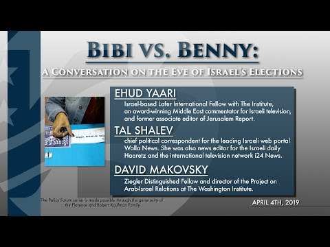 Bibi vs. Benny: A Conversation on the Eve of Israel's Elections
