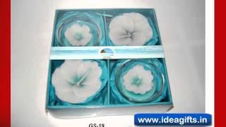 Designer Diya Candles / Fragrance Gift Packs - Incense Gift Boxes Exporters In Delhi India.