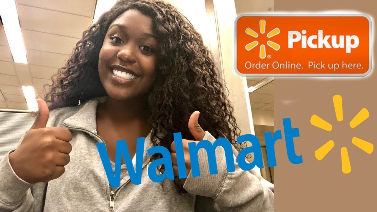 Trying the Walmart Grocery Pickup for the first time!!