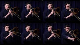 Oh Shenandoah, Arranged for Trombone Choir.